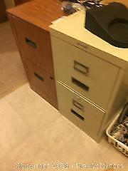 Two Drawer Filing Cabinets And More