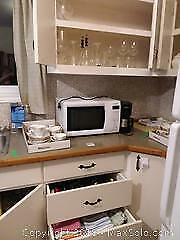 China, Microwave, Coffee Maker and More A