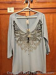 "Brand New Ladies ""Baranda"" Top Size XL"