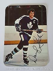 1977-78 OPC Darryl Sittler Toronto Maple Leafs Special Insert Photo Card