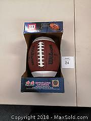 New in Box CFL Wilson Football - A