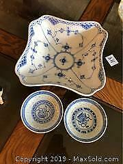 Blue And White A