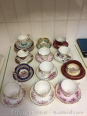 Bone China Tea Cups And Saucers A