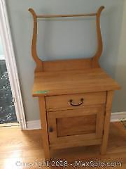 Antique Wash Stand, Refinished