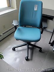 Desk Chair And Mat. C