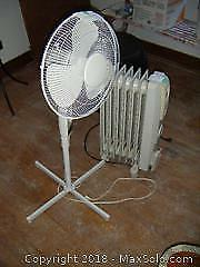 Heater And Fan A