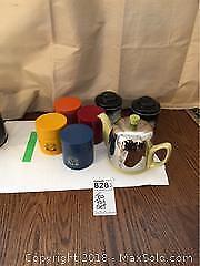 Tea Pot Set A