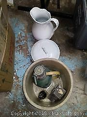 Crock, Ewer, Chamber Pot, Plane, and More. A