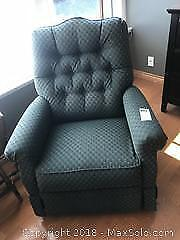 Recliner and Lamp C