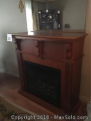 Electric fireplace; untested