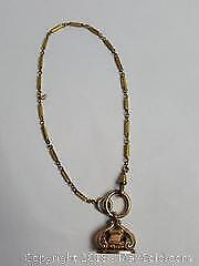 Antique Pocket Watch Fob and Chain