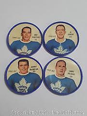 1960s Toronto Maple Leafs Sherriff Coin Lot