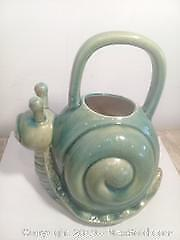 Ceramic Snail Watering Can