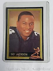 1991 Bo Jackson College Football Card