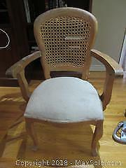 Vintage Caned Backed Chair C