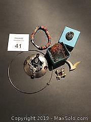 Assorted Jewelry Including Scottish Pins