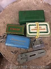 Singer sewing machine parts/accessories
