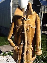 Men's Sheep Skin Coat