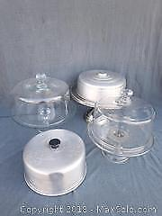 Cake Plates and Domes