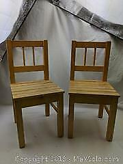 Wooden Childrens Chairs