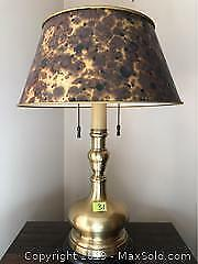 Brass Table Lamp A