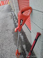Pick Axe, Battery Operated Line Trimmer