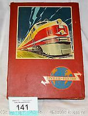 DISTLER Toy ELECTRIC TRAIN W GERMANY / 110 or 220 VOLT