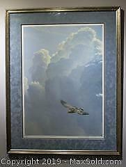 Robert Bateman Flying High - Golden Eagle limited edition, framed, s/n