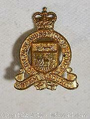 Royal NEW BRUNSWICK Cap Badge.