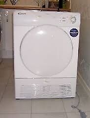 44 Candy GOC580C 8kg White Sensor Drying Condenser Tumble Dryer 1 YEAR GUARANTEE FREE DELIVERY
