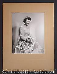 Antique Black and White Photograph