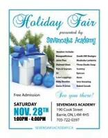 Sevenoaks Academy Vendor Holiday Fair