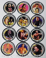 Wresting Metal Collector Plate Lot Of 12