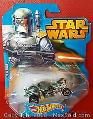 Star Wars Boba Fett Hot Wheels Car
