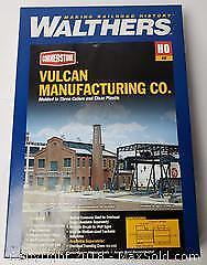 Vulcan Plant HO Model Train Set Building