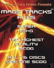 Magic-Tracks-1208-Sg-Super-CDG-Karaoke-Georgia-Brown-76-Disc-Set-On-1-SCDG