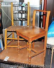Antique Small Chairs A