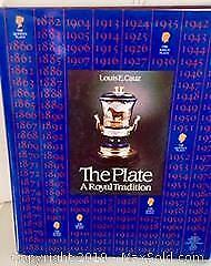 THE PLATE, A ROYAL TRADITION? COFFEE TABLE BOOK