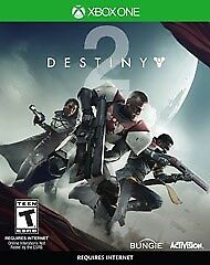Destiny 2 Xbox one game brand new still sealed unwanted present rrp £49