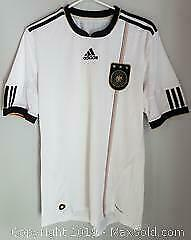 German Soccer Team Jersey