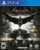 Batman Arkham Knight for PS4 with unused DLC codes!