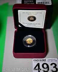 RCM Issue Fine Gold Coin - Boreal Forest C