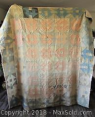 Antique Hand-Crafted Quilt - Circa 1925