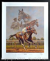 """Fred Stone """"Cigar - In Pursuit of Greatness"""" limited edition horse racing print, s/n"""