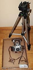 """Vintage Asahiflex 35MM Camera with Case and TripodPick up in Time-slot """"B"""""""