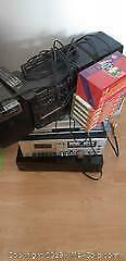 Stereo Components, Boom Box and VCR A