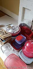 Picnic Basket and Storage Containers A