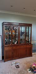 Rosewood Buffet And Hutch C