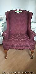 Wing Back Arm Chair B