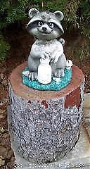 Raccoon Garden Ornament - C